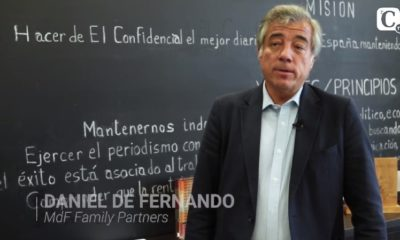 Daniel de Fernando at the XVII Round Table Cotizalia, MdF Family Partners