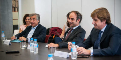 Daniel de Fernando at the Round Table of Cotizalia, MdF Family Partners