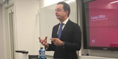 Javier de Muguiro at the Instituto de Empresa, MdF Family Partners