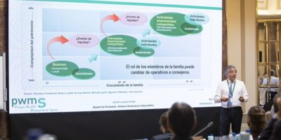 Daniel de Fernando at the 8th edition of Private Wealth Management Spain, MdF Family Partners