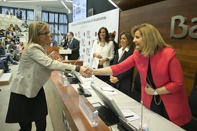 Entrega de los premios de la Fundación Integra 2015 en la sede de Bankia de Madrid, MDFFP